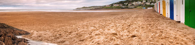 Devon has over 70 beautiful beaches, each with their own charm. In the north the beaches are better for surfing while the sheltered south has quiet coves