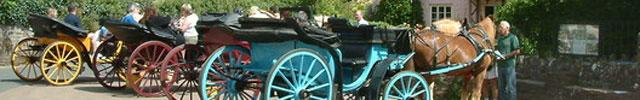 Cockington, a horse and carriage ride into paradise