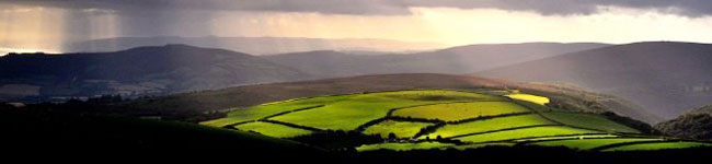 Exmoor National Park is the gentler sister to Dartmoor and although less well known it has just as many interesting sights and natural attractions