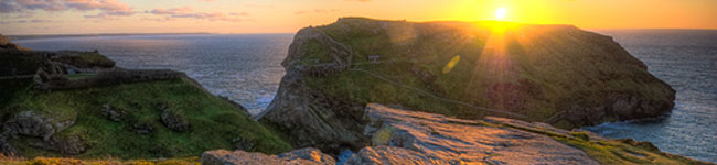A ruined castle, stories of King Arthur and a Museum of Witchcraft are sure to light the imagination of most young visitors and the villages of Boscastle and Tintagel promise all three.