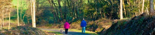 Walking and cycling on the Tarka Trail