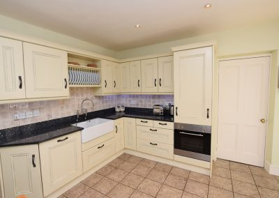 The kitchen at Atlantic View, Carnyorth