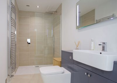 Bedroom #1 en-suite at Avalen Rise, Newlyn