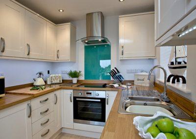 The kitchen @ Avocet 1, The Cove, Brixham