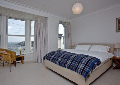 Bedroom #1 at Bay House, Brixham