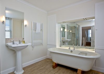 The bathroom at Bay House, Brixham
