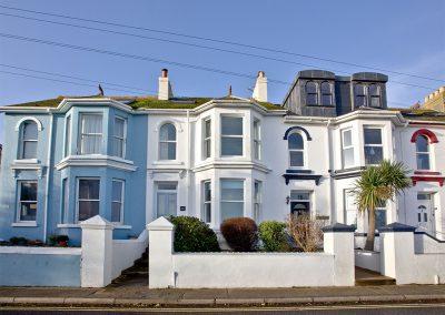 Outside Bay House, Brixham