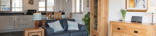 Bay View Apartment, St Austell - A modern ground floor apartment close to Duporth Bay