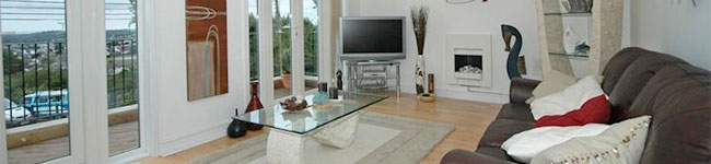 Bayview, St Austell - A luxury apartment with fantastic sea views over St Austell Bay