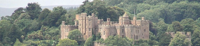 "They say  ""An Englishman's home is his castle"" & for the last 600 years this has been true for the Luttrell family who lived at Dunster Castle on Exmoor."