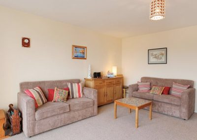 The living area @ Beaching, Brixham