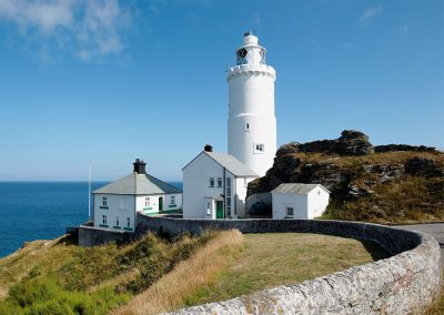 The drive at Beacon Cottage, Start Point is shared with walkers, forming part of the South West Coast Path. Guests can use the path to enjoy breathtaking cliff top walks in both directions.