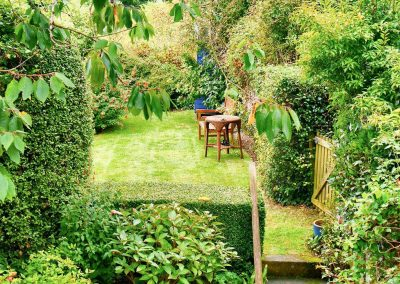 The garden at Beehive Cottage, St Breock
