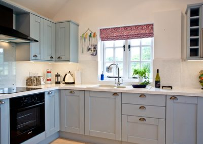 The kitchen @ Bell Cottage, Sidmouth