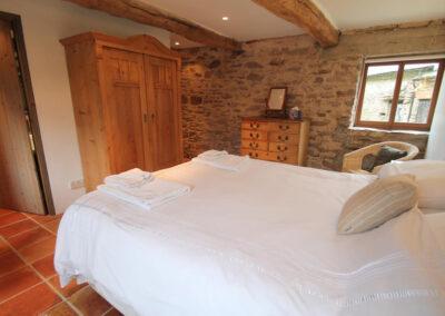 Bedroom #1 at Bentwitchen Barn Cottage, North Heasley