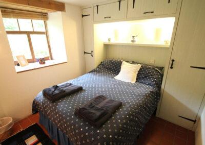Bedroom #3 at Bentwitchen Barn Cottage, North Heasley