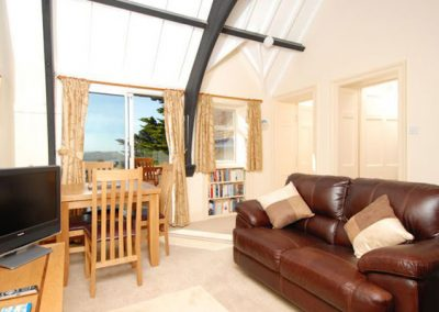 The living area @ Bishops View, New Polzeath