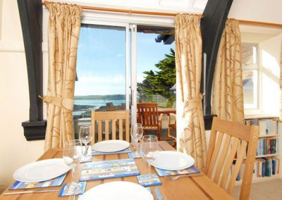 The dining area @ Bishops View, New Polzeath