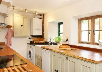 The kitchen at Blackberry Cottage, Chagford