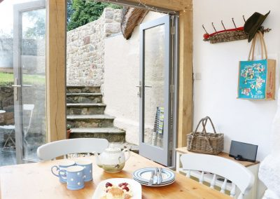 The conservatory & dining area at Blackberry Cottage, Chagford