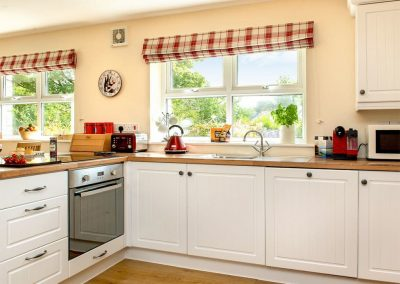 The kitchen at Blackberry Cottage, Coad's Green