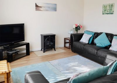 The living area at Bolt Tail View, Thurlstone