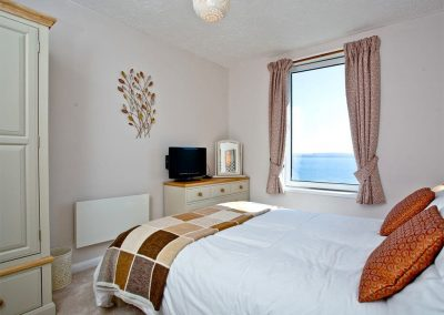 Bedroom #1 at Boohay, Bay Fort Mansions, Torquay