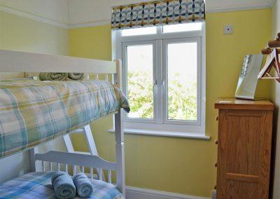 Bedroom #4 at Bosprennis, Mevagissey