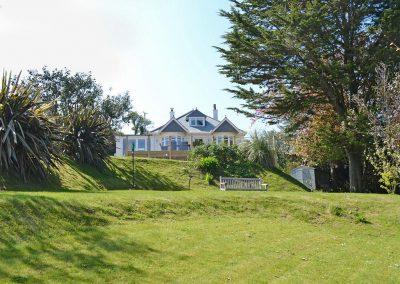 The garden at Bosprennis, Mevagissey