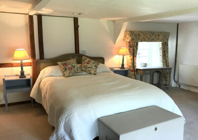 Bedroom #1 at Bratton Mill Farmhouse, Bratton Fleming