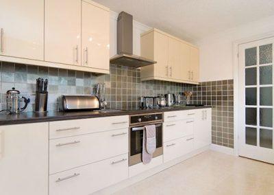 The kitchen @ Bridge House, Perranporth