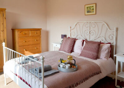 Bedroom #1 at Broadsands Retreat, Goodrington