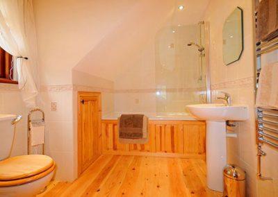 The bathroom @ Brook Cottage