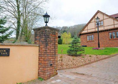 Outside Brook Cottage