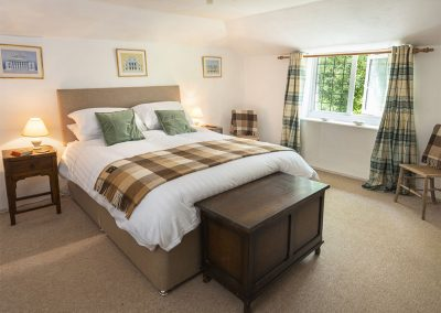 Bedroom #1 at Brook Farm, Washbourne