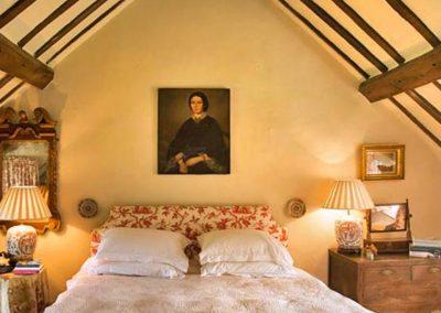 Bedroom #1 at Brooks Cottage, Dunsford