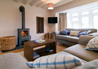 Lounge @ Bryher Cottage
