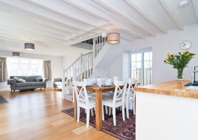 Bryher Cottage offers a spacious open plan living area