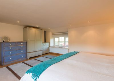Bedroom #1 at Bubble Cottage, Watergate Bay