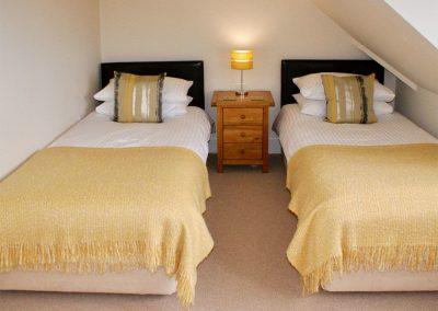 Bedroom #3 at Buddleia, West Charleton