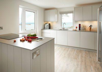 The kitchen at Captain's House, Marazion