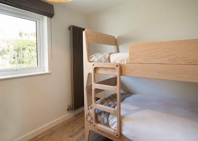 Bedroom #5 at Captain's House, Marazion