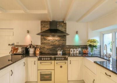 The kitchen at Cardwen Farmhouse, Pelynt