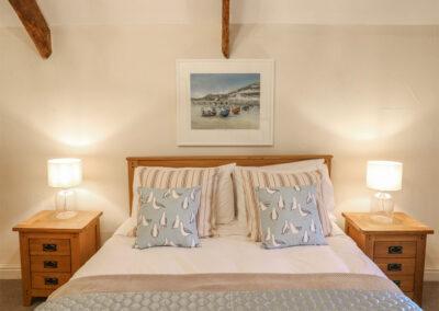 Bedroom #2 at Cardwen Farmhouse, Pelynt