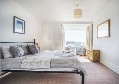 Bedroom #2 at Carn Eve, Sennen Cove