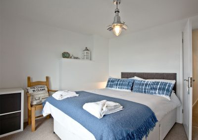 Bedroom #1 at Castaway Cottage, Brixham