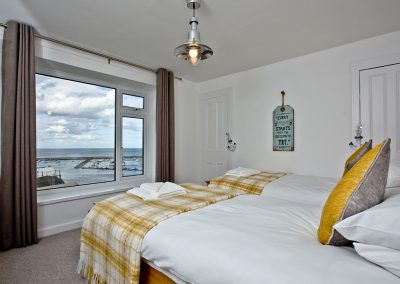 Bedroom #2 at Castaway Cottage, Brixham