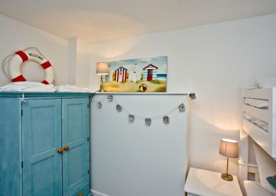Bedroom #3 at Castaway Cottage, Brixham
