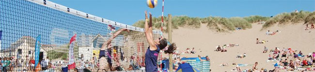 Celebrate the Summer Solstice at the Gold Coast Oceanfest & enjoy a host of games, sports & live music, including the UK's largest beach volleyball event.