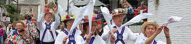 The Polperro Festival had been celebrated for decades as part of the Summer Solstice. Now a thriving arts & cultural heritage event, it offers fun for all.